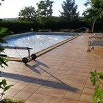 Het zwembad - Zalig!