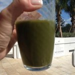 this healthy smoothly looks bad, but was delicious!!