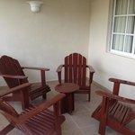 residential suites-patio