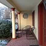 Moore Suite patio