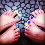 Colorful Toes! :D