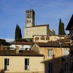 Duomo di Barga e paese