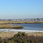 The view across to Mudeford