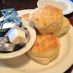 oh yes. fresh biscuits!