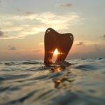 snorkeling al tramonto
