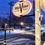 Front sign of Mio Vino