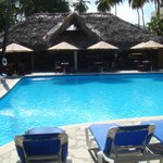 Main pool and restaurant.