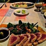 amazing tuna sashimi