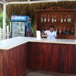 Bar at the beach. Great staff!