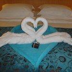 Honeymoon room decoration!