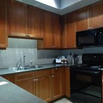beautiful kitchen with full size appliances,including dishwasher.