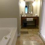 Modern bathroom.huge space.