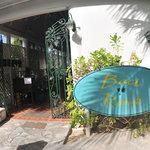 Welcoming Entrance at Baci