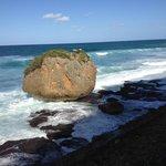 Rugged scenic Guajataca Beach walk