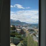Vista desde la habitación hacia el Puerto