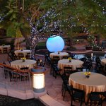 Outdoor dining at its best!
