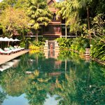 La Residence d'Angkor's sublime pool