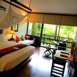 La Residence d'Angkor - relaxing, luxurious bedroom in Room #8