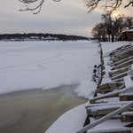 Frozen Lake Front