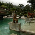 Hot-spring pools - lovely