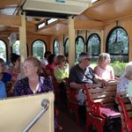 Riders of all ages and backgrounds love to learn about the history of Delray Beach aboard a trol