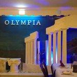 Olympia back drop