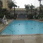 Swimming Pool in the rain