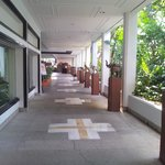 Walkway to breakie