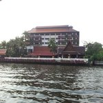 The hotel from the free shuttle boat
