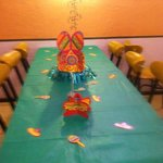 banquet room available for large groups