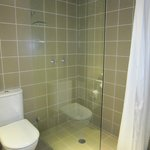 bathroom with shower only Room 306