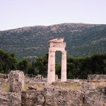 Round Tholos temple ruins