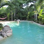 Pool in an oasis of calm