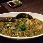 vegetarian curry with paneer