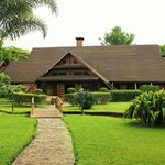 The main building at the lodge