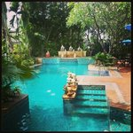 Pool area at Citin Garden