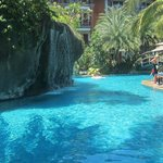 The lagoon Pool ( a small section of it)