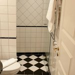 Bathroom double delux room