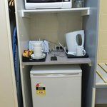 Comfort Suite - Refrigerator, Kettle, Microwave and Toaster