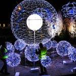 Christmas Lights in Preparation