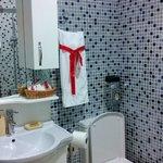 Badarmatur und Toilette