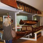 Early wooden rowing boats