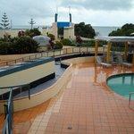 Pool-outside area