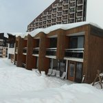 View of Hotel from piste