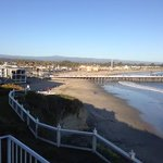 View of the Santa Cruz Pier and the Santa Cruz Beach Boardwa