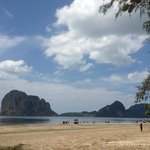 Pak Meng beach (30 minute drive from the hotel)