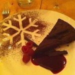 Chocolate Nemesis Pudding! Yum!