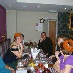 christmas dinner staff meal