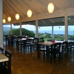 Restaurante com vista para o mar
