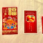 Lucky red pockets for CNY
